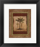 Framed Palm Botanical Study I - special