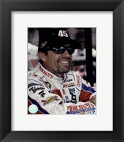 Framed Kyle Petty portrait in Merchants uniform, 2006 shot
