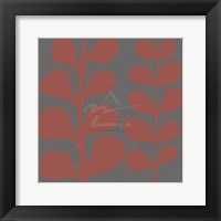 Framed Maidenhair Coral Stem (double)
