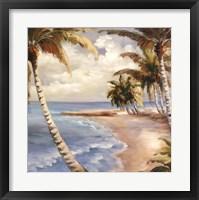 Framed Palm Paradise
