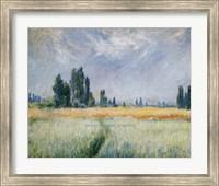 Framed Wheatfield, 1881