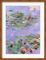 Framed Water Lilies, c. 1914-1917
