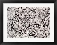 Framed Number 14: Gray