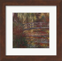 Framed Water Lily Pond, 1900