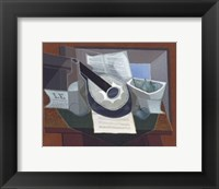 Framed Still Life with a Guitar, 1925