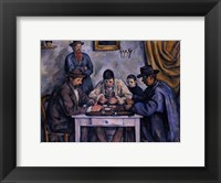 Framed Card Players, c.1890