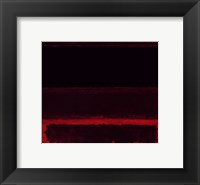 Framed Four Darks in Red, 1958