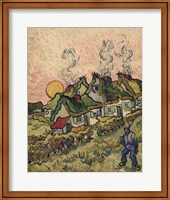 Framed House and Figure, c.1890