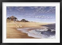 Framed Hampton Beach