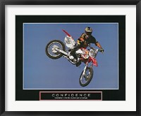 Framed Confidence  Motorbiker
