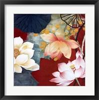 Framed Lotus Dream I