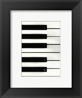 Framed Piano