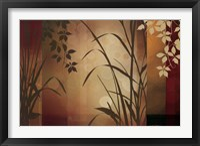 Framed Flaxen Silhouette