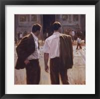 Framed Two Gentlemen in Milan