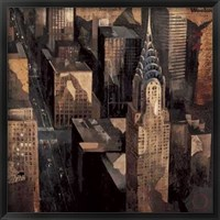 Framed Chrysler Building View