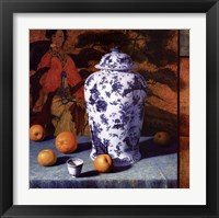 Framed Composition with Asian Pears (Contemporary Still-Life #25)