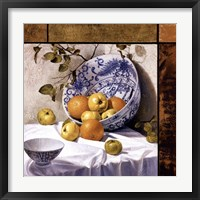 Framed Composition with Asian Bowls (Contemporary Still-Life #6)