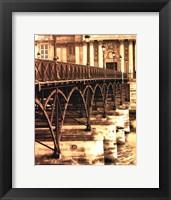 Framed Ponts des Arts - Dtail