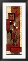 Framed Floral Fantasy I