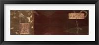 Framed Balancing Bamboo III