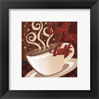 Cafe au Lait Framed Print