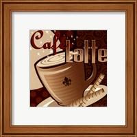 Framed Caf Latte
