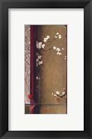 Blossom Tapestry I Framed Print