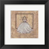 Framed Take Me Dancing IV (white)
