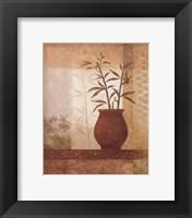 Framed Bamboo Shadow II