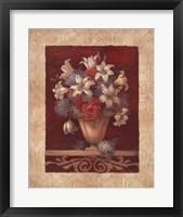 Framed Arlene's Bouquet II