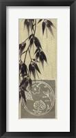 Framed Bamboo At Dawn