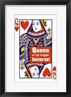 Framed Queen Of Friggin Universe