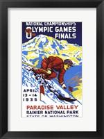 Framed Olympic Games