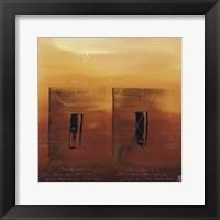 Vibration Universelle VII Framed Print
