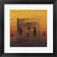 Vibration Universelle VIII Framed Print