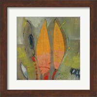 Framed Knospen Und Blüten I