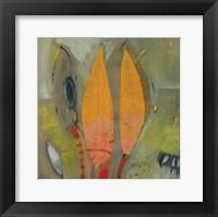Knospen Und Blüten I Framed Print