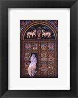 Framed Temple's Door