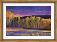 Framed Yellow Trees, Yellow Lake