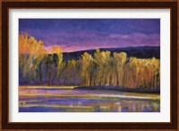 Framed Yellow Trees, Yellow Lake
