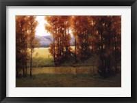 Framed Autumn Reflection