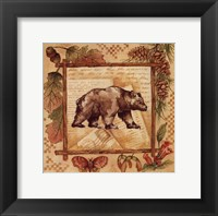 Framed Bear