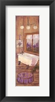 Framed Bath in Lavender II