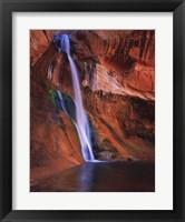Framed Calf Creek Falls
