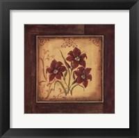 Framed Crimson III