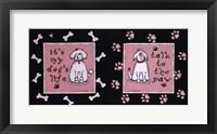 Framed Dog's Life
