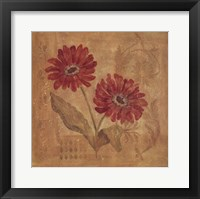 Day Dahlias Framed Print