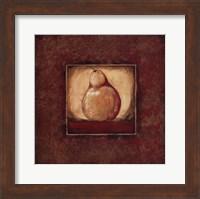 Framed Pear I