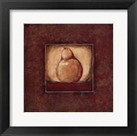 Pear I Framed Print