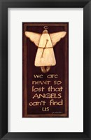 Framed We Are Never So Lost